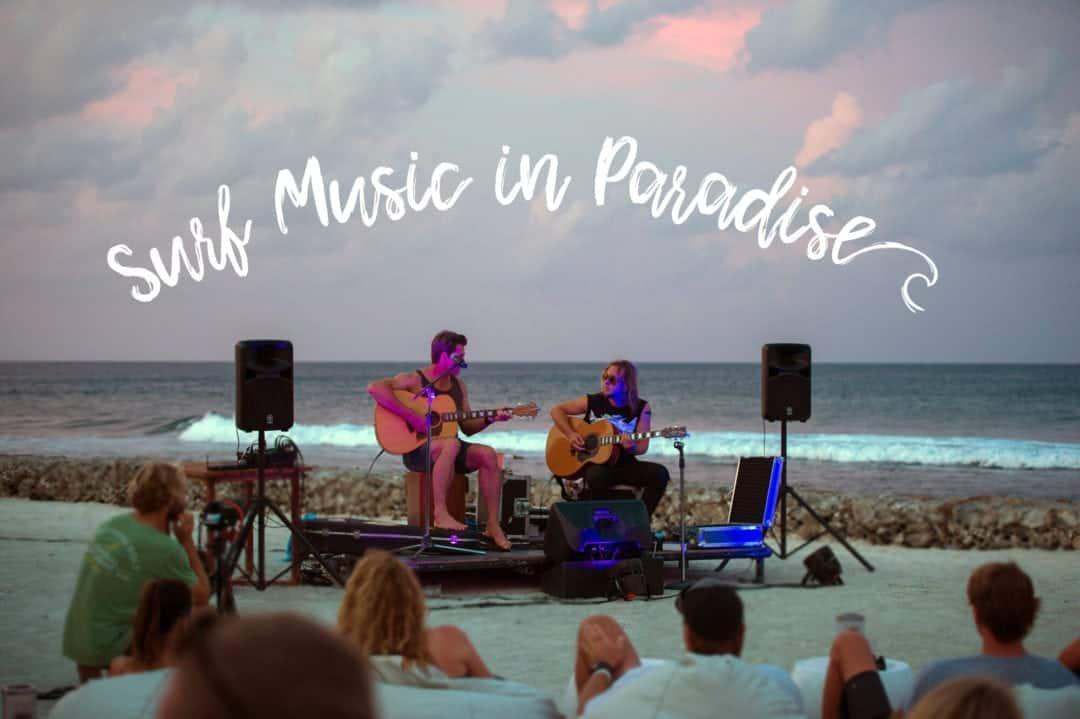 Surf Music in Paradise Maldives